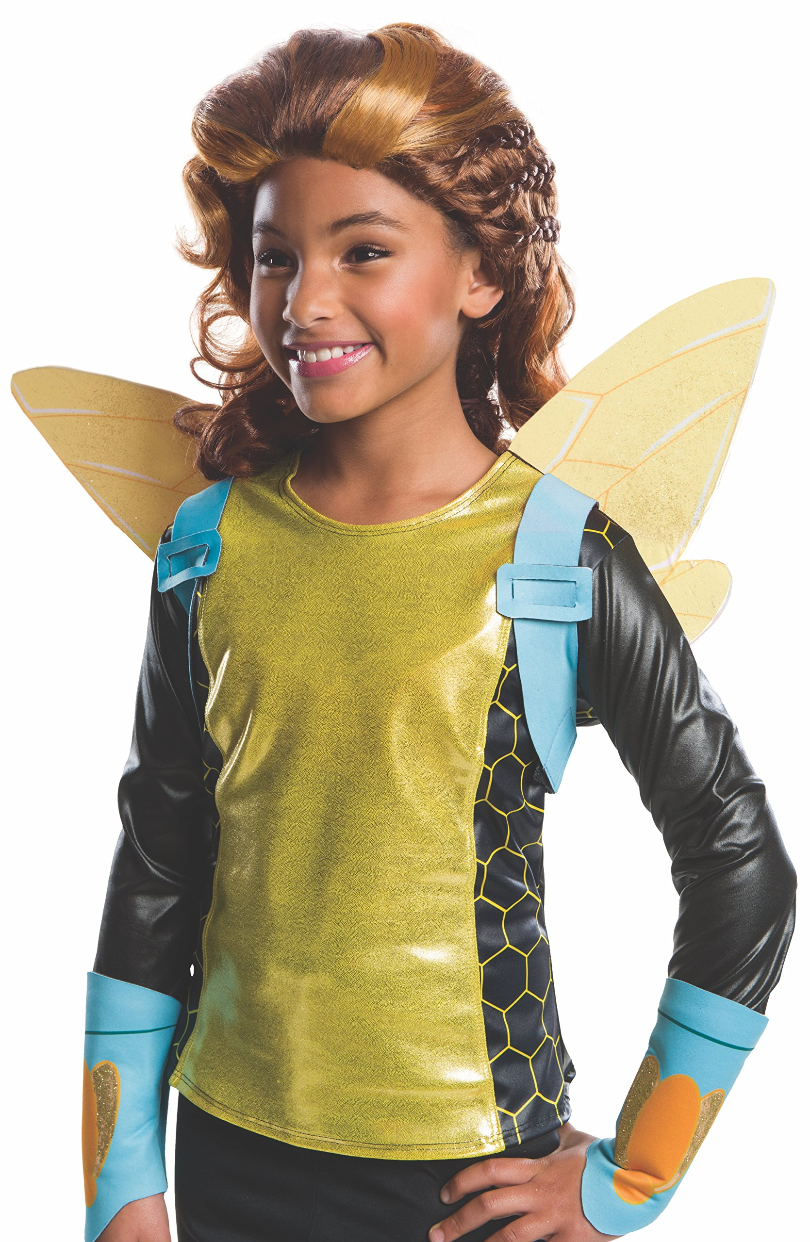 Rubie's Costume Girls DC Super Hero Bumblebee Wig