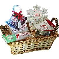 Coffret Cadeau de Noël avec Ferrero Raffaello (avec 4 pièces)