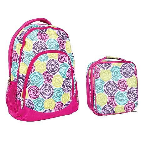 Amazon.com: Juego de mochila escolar reforzada impermeable y ...