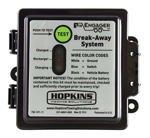 911ZL9Xt3ML._SX522_ amazon com hopkins 20119 engager sm break away system with hopkins breakaway switch wiring diagram at bayanpartner.co