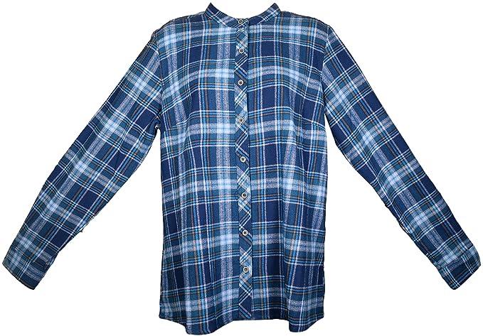 Amazon.com: Lee Valley, Irlanda – Señoras camisa de abuelo ...
