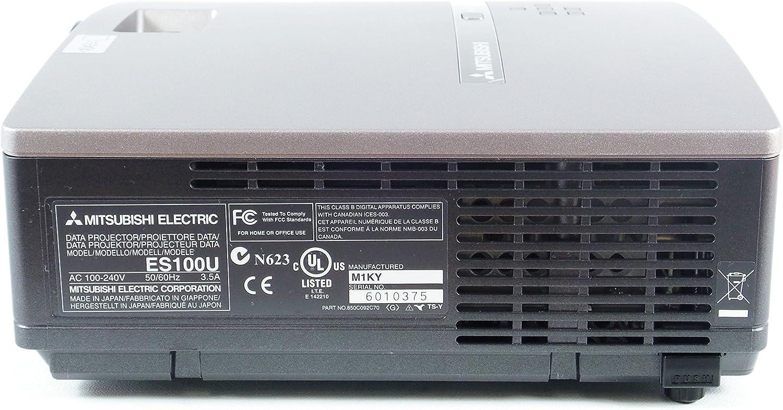 Amazon.com : Mitsubishi ES100U DLP Projector SVGA 2000 ...