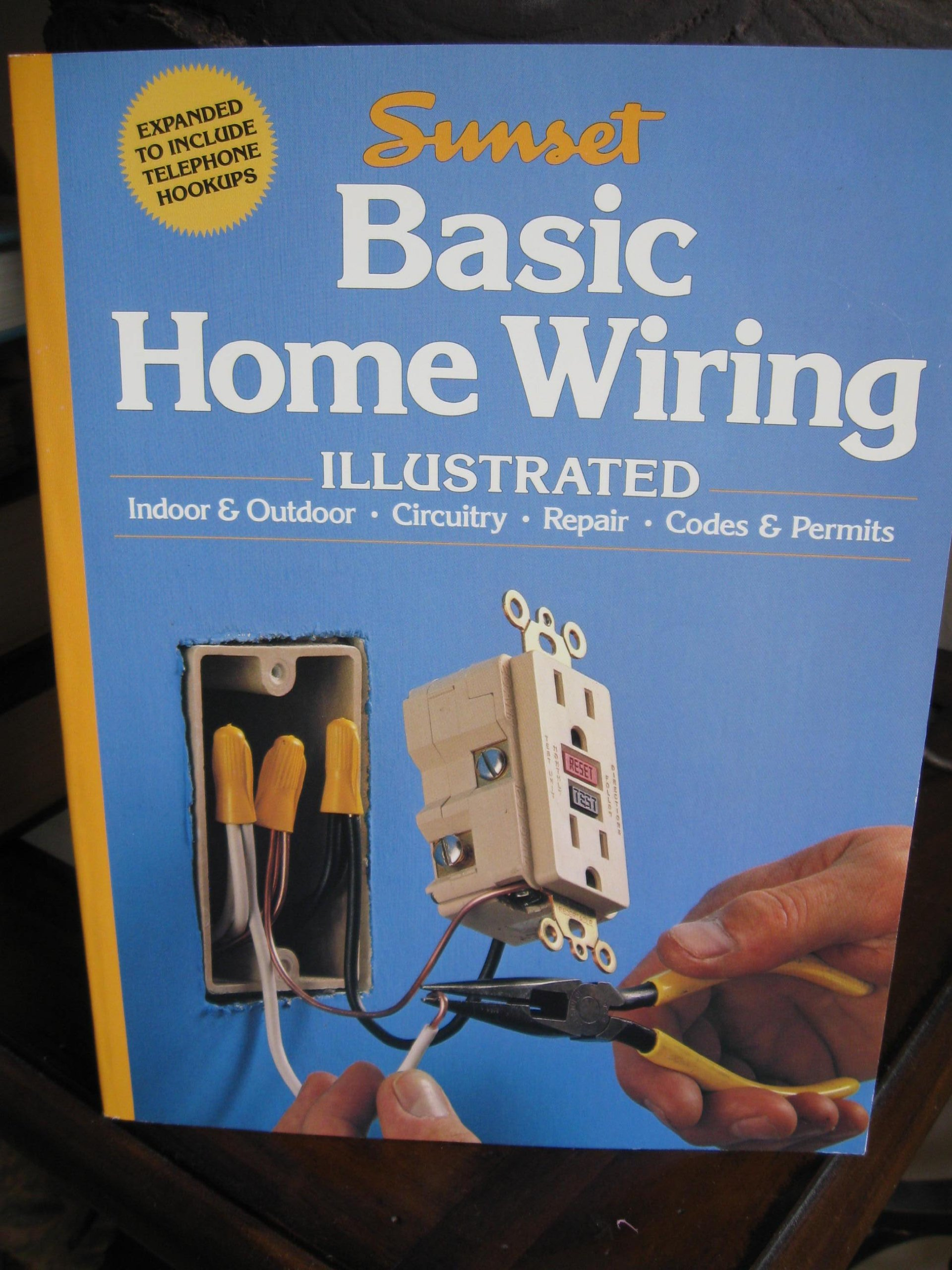 Basic Home Wiring Illustrated Sunset Magazine Book Editors Books