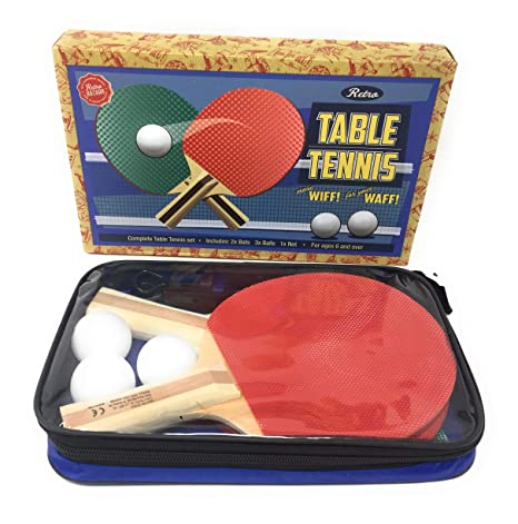 Juego Completo de Tenis de Mesa - Juego de Tenis de Mesa clásico ...