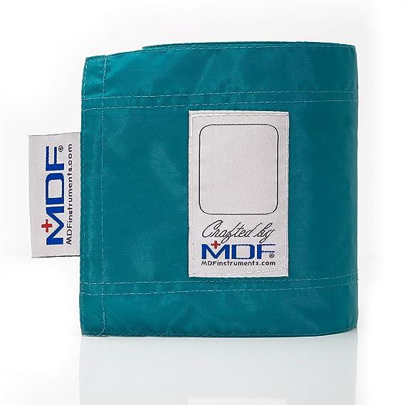 MDF® bravata Palm - Tensiómetro aneroide - Monitor de presión arterial Profesional con puño de tamaño adulto incluido - color azul (MDF848 X pd-16): ...