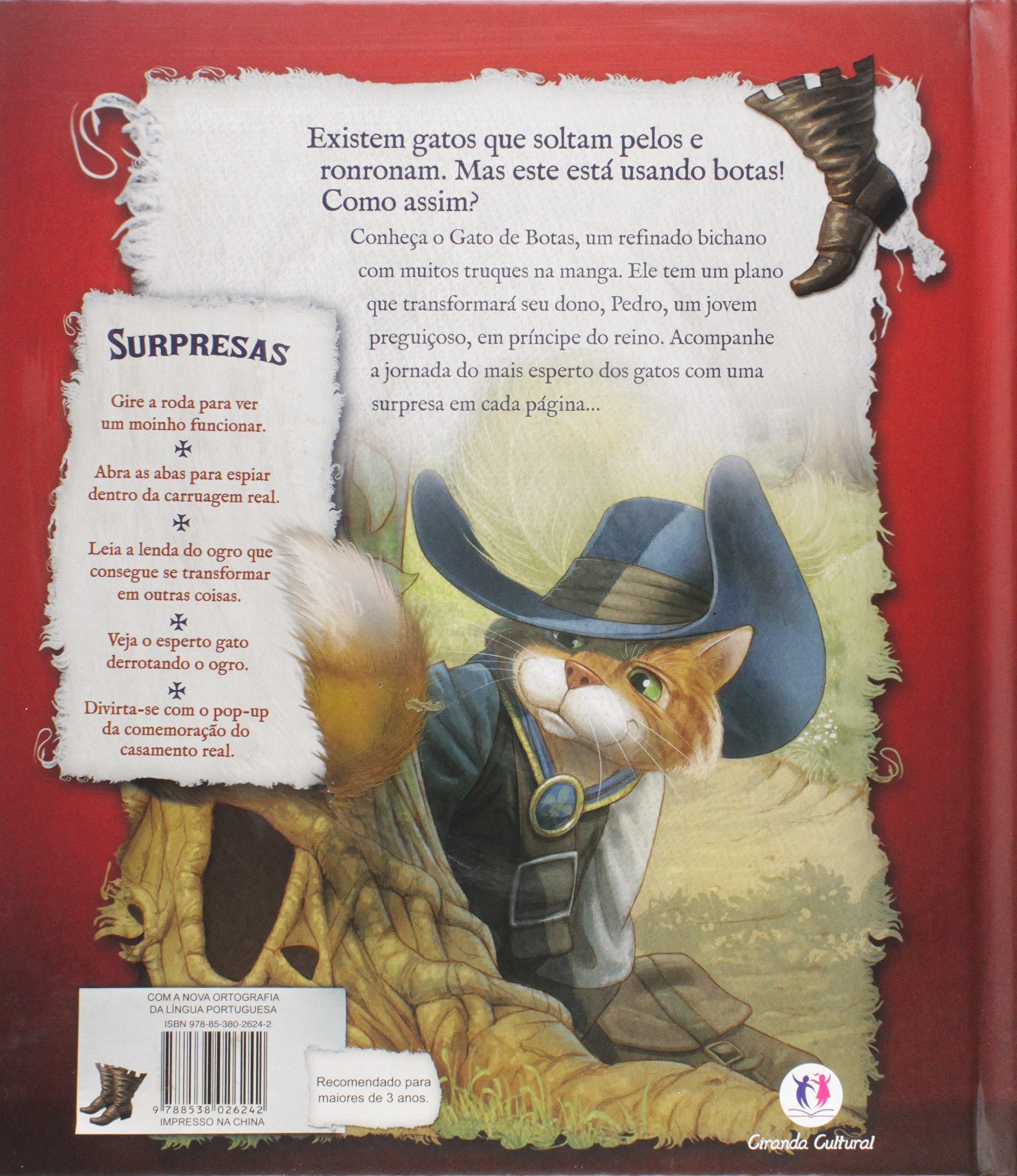 Gato de Botas, O - Livro Pop-up: Stella Gurney: 9788538026242: Amazon.com: Books
