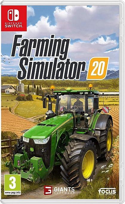 Farming Simulator 20 - Nintendo Switch [Importación inglesa]: Amazon.es: Videojuegos