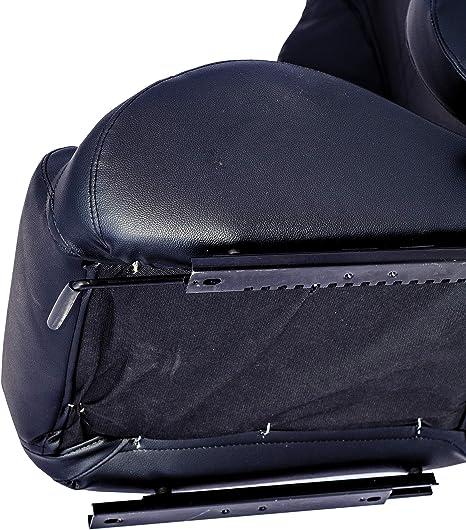 HABILL-AUTO Siege baquet Tissu Noir inclinable avec glissi/ère