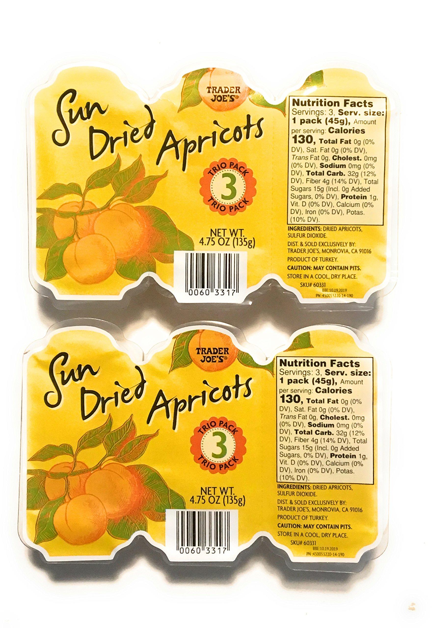 Trader Joe's Sun dried Apricots 2 pack