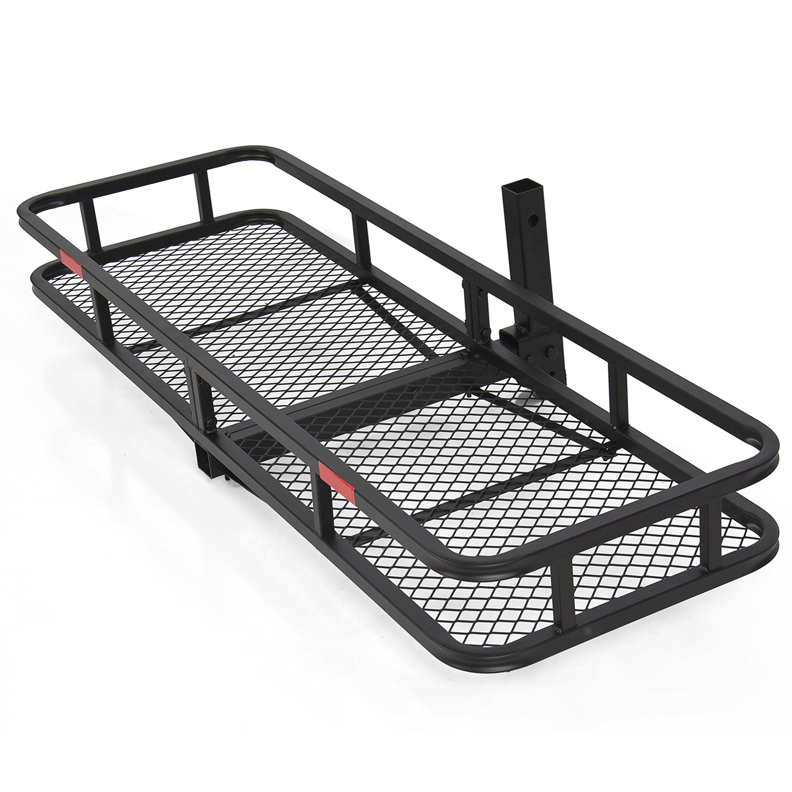 Best Choice Products SKY1658 60'' Folding Cargo Carrier Luggage Rack (Hauler Truck or Car Hitch 2'' Receiver) by Best Choice Products