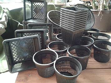 30 Pflanzkorbe 4 Verschiedene Grosse Von 11 23 Cm Teichpflanzen