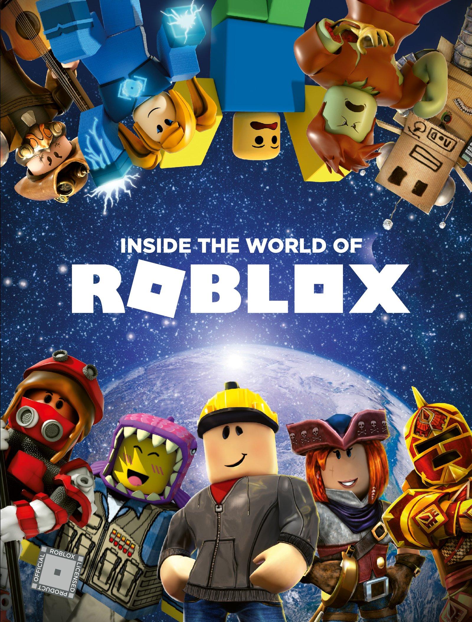 Inside The World Of Roblox Official Roblox Books Harpercollins 9780062862600 Amazon Com Books