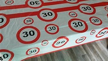 30 Igster Geburtstag Feier Abwaschbare Party Feier Tisch Decke Deko