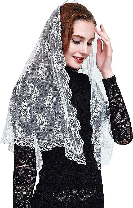 d shape and long veil PRE ORDER OF Cause of Our Joy Catholic chapel veil mantilla white church veil