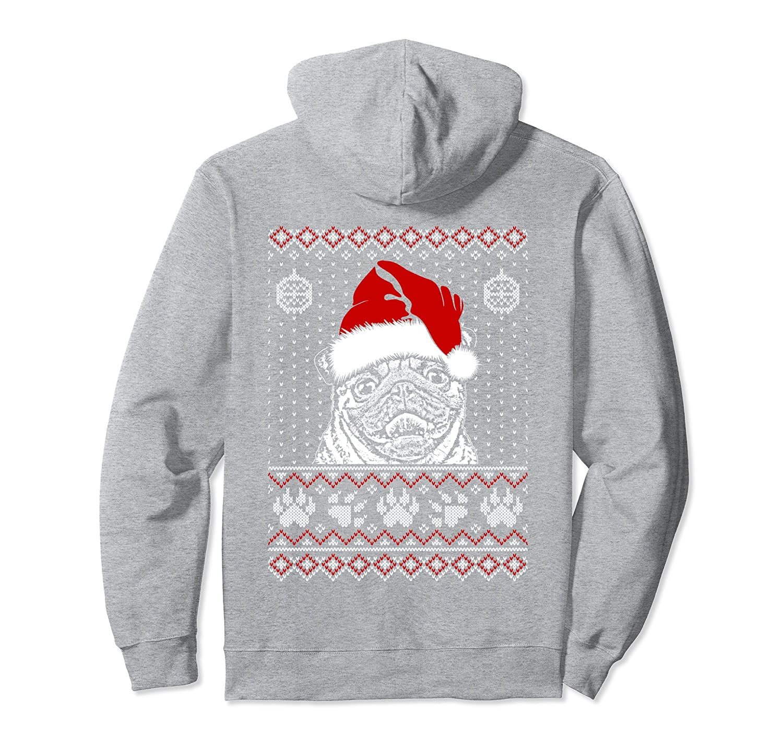 0d533b099c Pug Lover Christmas Hoodie Birthday Gift-ah my shirt one gift ...