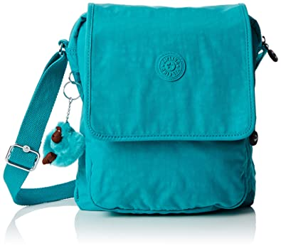 Kipling Women s Netta Cross-Body Bag - Turquoise (Cool Turquoise ... 37eb0a3ec6