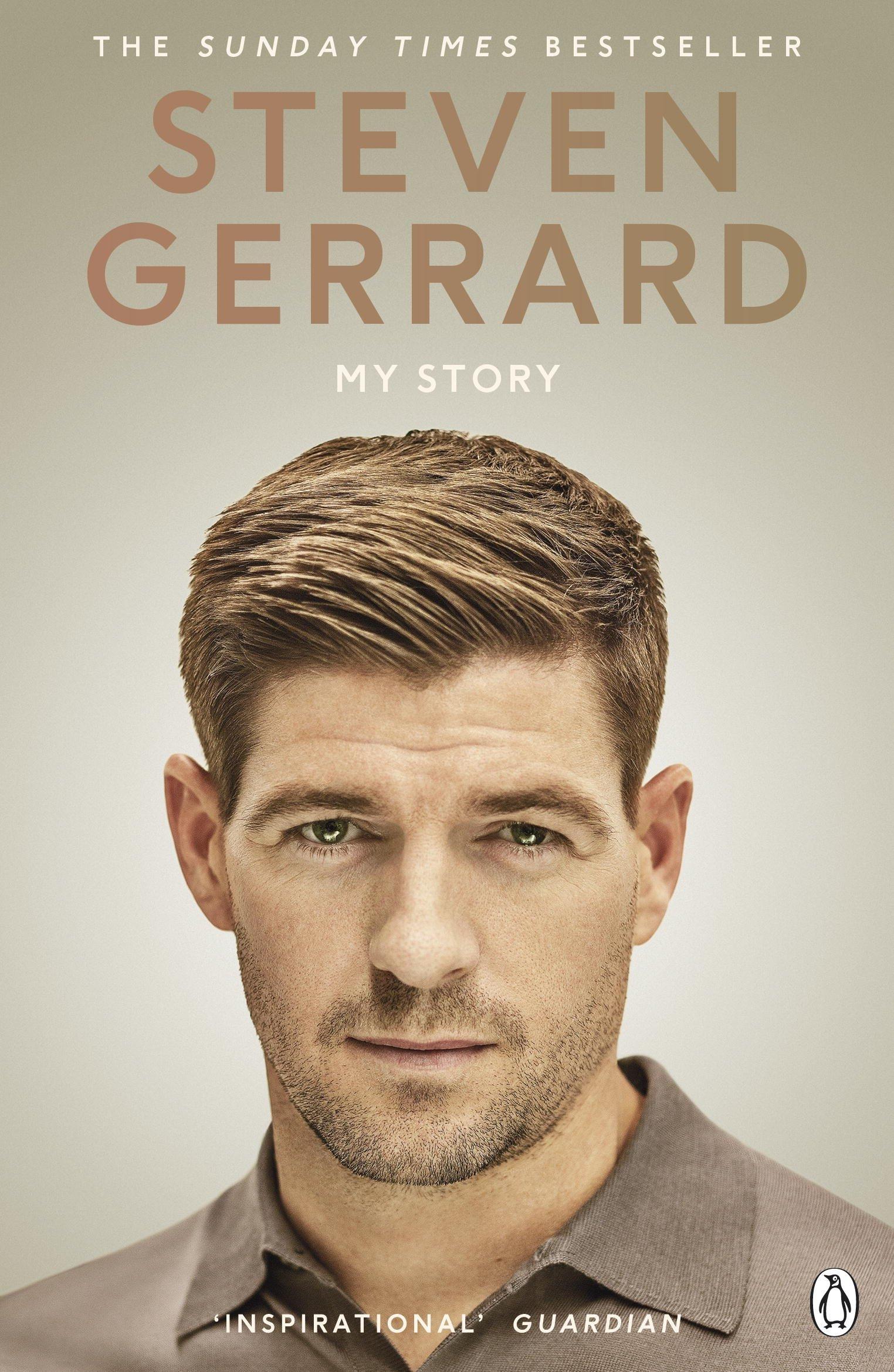 My Story Paperback – June 28, 2016 Steven Gerrard Penguin UK 1405924411 Soccer