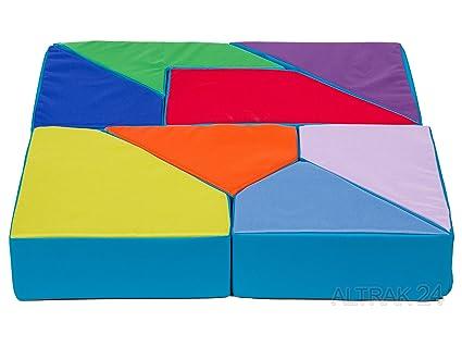 Letto Futon Bimbi : Bambini divano letto futon bambini puzzle grey brown mim
