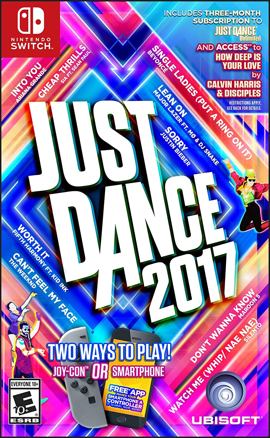 Just Dance 2017 - Switch(Versión EE.UU., importado): Amazon.es: Videojuegos