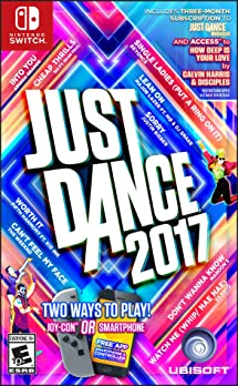 Amazon Com Just Dance 2017 Nintendo Switch Video Games