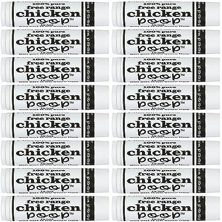 Simone Chickenbone Chicken Poop Lip Junk 16 Pack