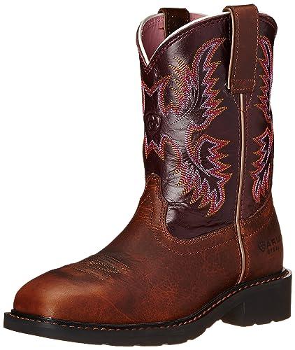 Womens Ariat steel toe boots foto