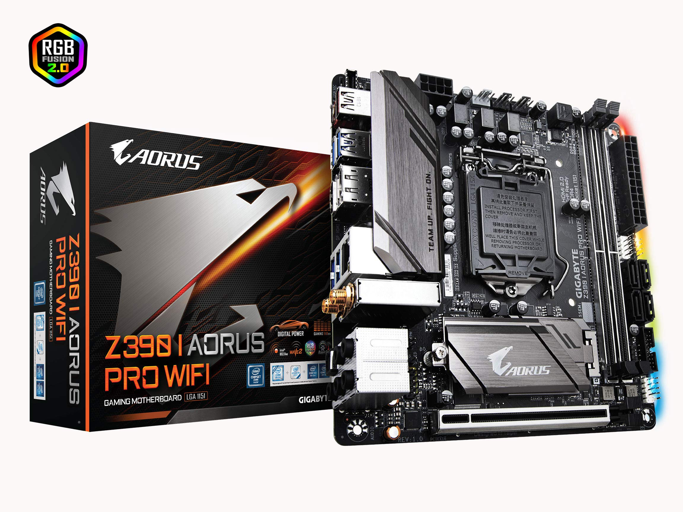 Gigabyte Z390 I AORUS PRO WiFi (Intel LGA1151/Z390/Mini-I...
