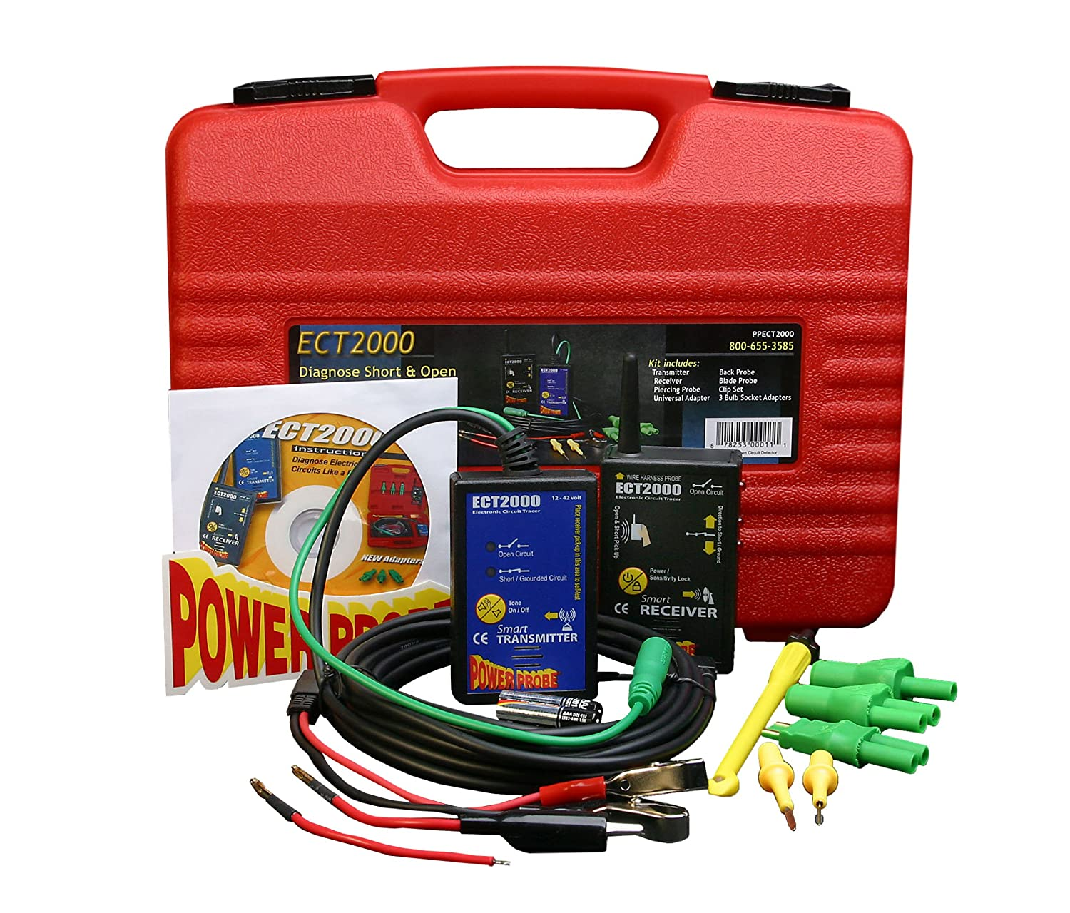 Power Probe Ect2000 Short Open Circuit Detector Automotive Electrical Testers Auto Electric Tester