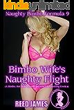 Bimbo Wife's Naughty Flight (Naughty Bimbo Formula 9): (A Bimbo, Hot Wife, Harem, Interracial, Spanking Erotica)