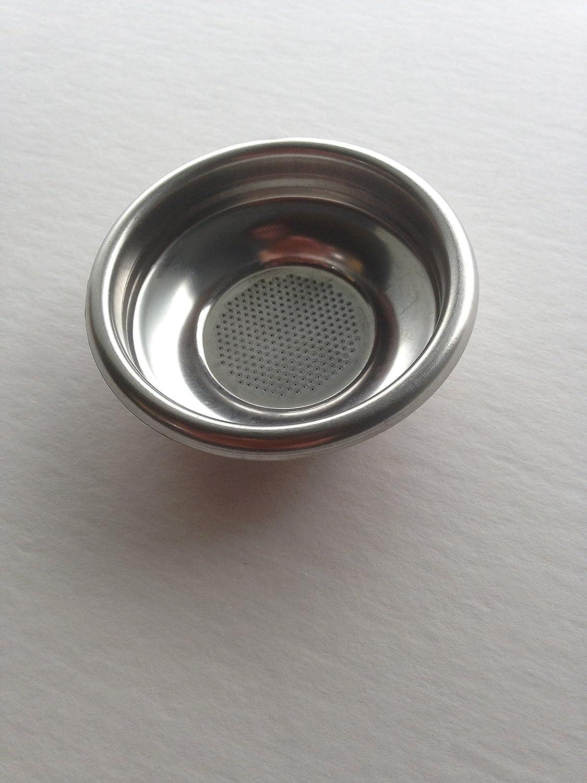 Single 1 Cup Espresso Machine Filter Basket 58mm by Rancilio