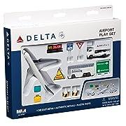 Delta Airlines 12 Piece Playset