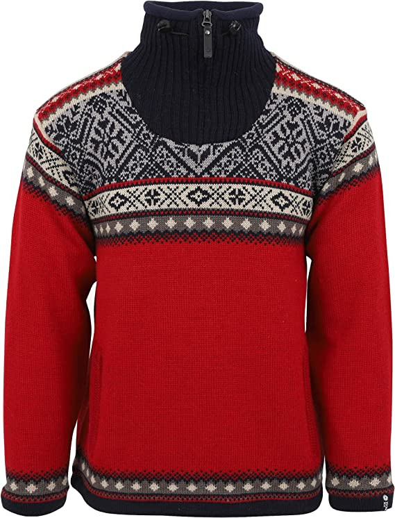 Icewear Bergen Norwegian Jumper Made Out Of Lined Wool Bergen Nordic Jumpers For Men Amazon Co Uk Clothing