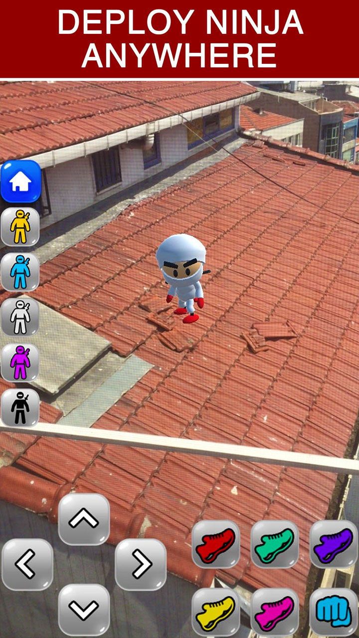 AR Ninja Kid vs Zombies Game of Augmented Reality - Interact ...