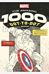 Marvel: The Amazing 1000 Dot-to-Dot Book (Numbers will be small) Paperback