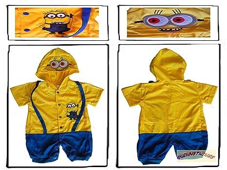 Traje infantil inspirado en Despicable Me Minions. 12-18 ...