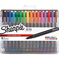 16 Count Sharpie Fine Point Art Pens With Hard Case