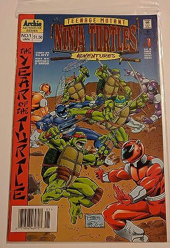Teenage Mutant Ninja Turtles Year of the Turtle #1 Comic ...