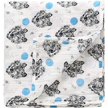 Amazon.com  OTGO Baby Blanket Newborn Thermal Soft Warm Fleece ... 7a02b1f36
