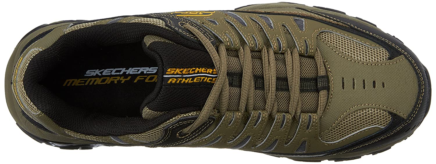 Skechers-Afterburn-Memory-Foam-M-Fit-Men-039-s-Sport-After-Burn-Sneakers-Shoes thumbnail 84