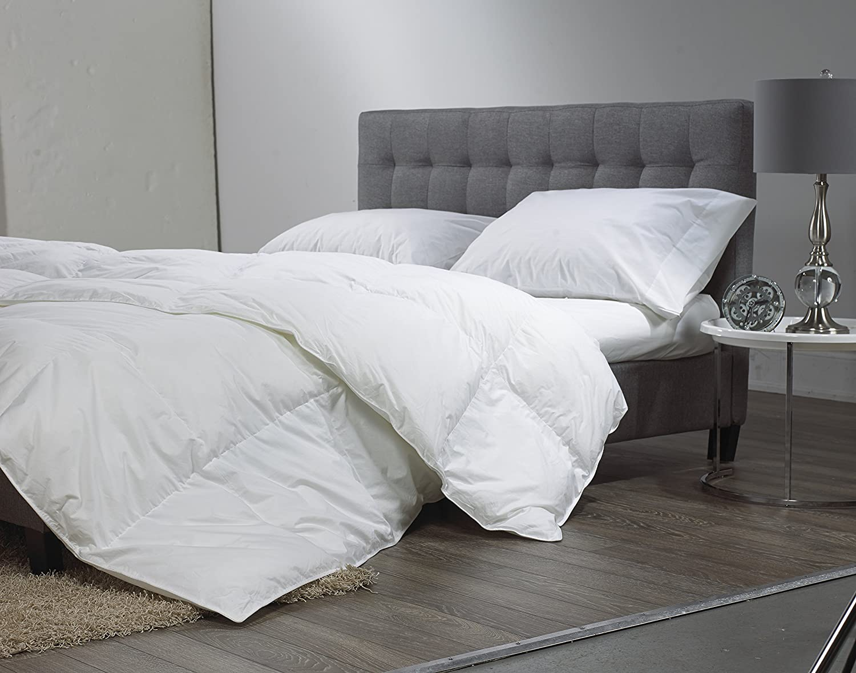 Sleep Solutions Microgel Down Alternative Duvet, King, White Westex International 299138