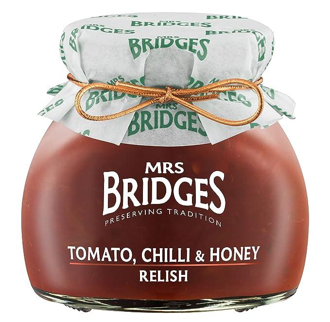 Mrs. Bridges - Salsa de Tomate, Chili y Miel - 6 de 205 gr