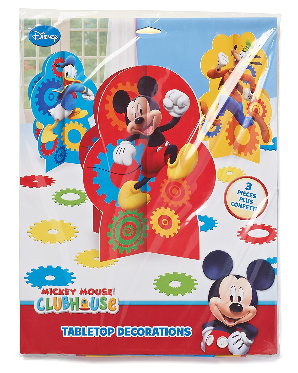 American Greetings Mickey Mouse Clubhouse Table Decorations American
