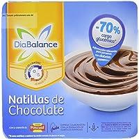 DiaBalance Natillas Chocolate - 6 Paquetes de 4
