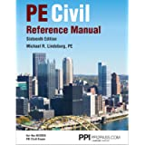 PPI PE Civil Reference Manual, 16th Edition – Comprehensive Reference Manual for the NCEES PE Civil Exam