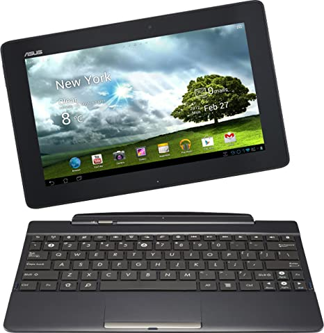 Asus Transformer Pad TF300TG - Tablet de 10.1 Pulgadas (Android, 16 GB, 1.2 GHz), Color Negro (Importado de Alemania)