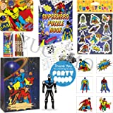 Pre Filled Childrens Party Bags Ready Made (Superhero party bags)