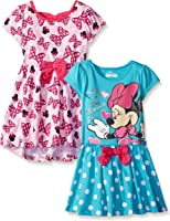 Disney Girls' 2 Pack Minnie Mouse Dresses