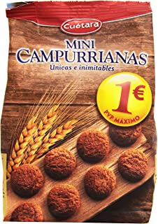 Cuètara - Mini Campurrianas - Galletas 300 gr - Pack de 3 (Total 900 grams