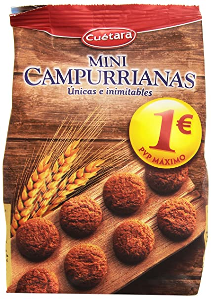 Cuètara Mini Campurrianas Galletas - 300 g