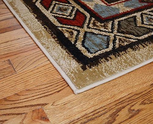 Mayberry Rugs Rustic Lodge Deer 8×10 Area Rug